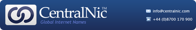 CentralNic Ltd - Global Names - Innovative, Reliable and Flexible Registry Services